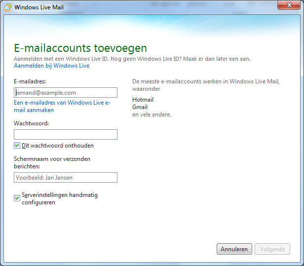 how to block emails on windows live