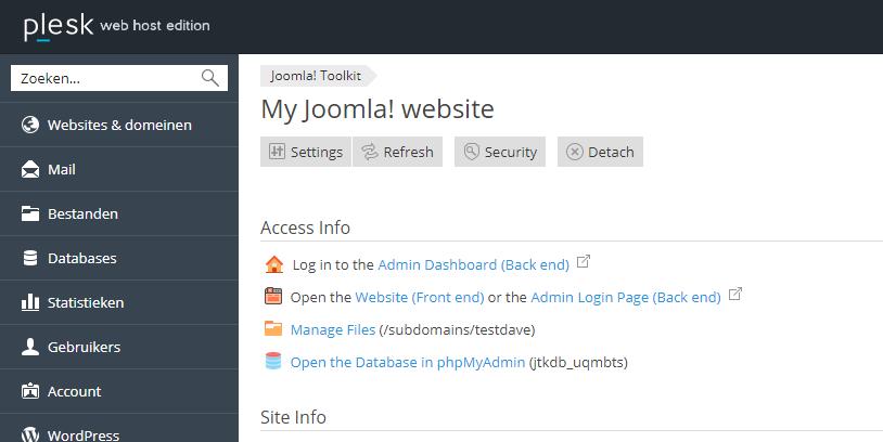 Met de Joomla! Toolkit kan je gemakkelijk jouw Joomla! sites beheren