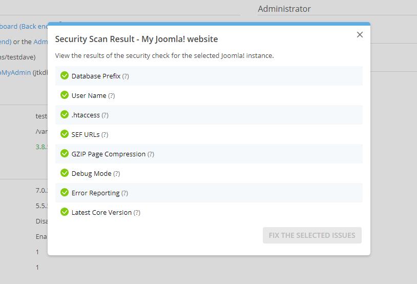 Bekijk de resultaten van de scan en scherp waar nodig de beveiliging aan