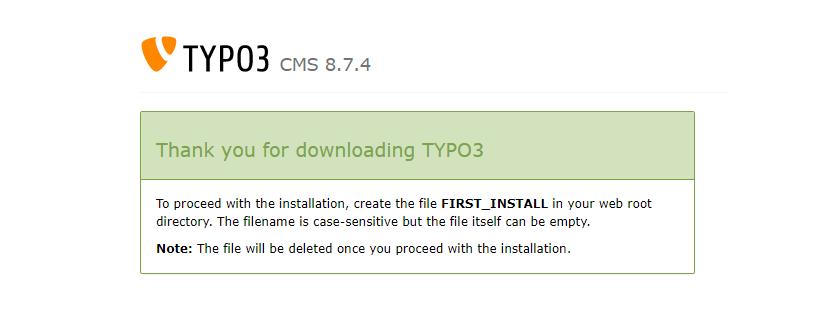 Na het downloaden kan je direct aan de slag met de installatie