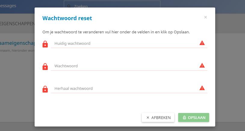 Het wijzigen van jouw controle paneel wachtwoord is een fluitje van een cent