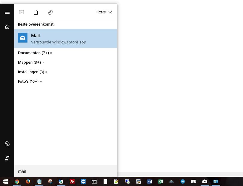 Start Windows Mail